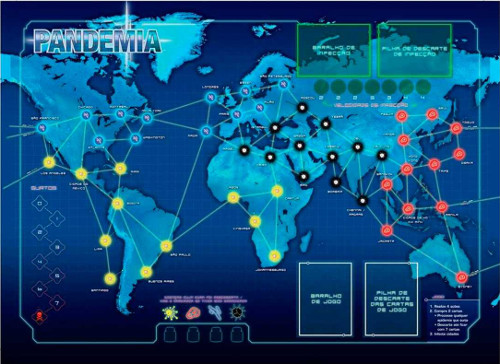 Conheça o jogo Pandemic Segunda Edição